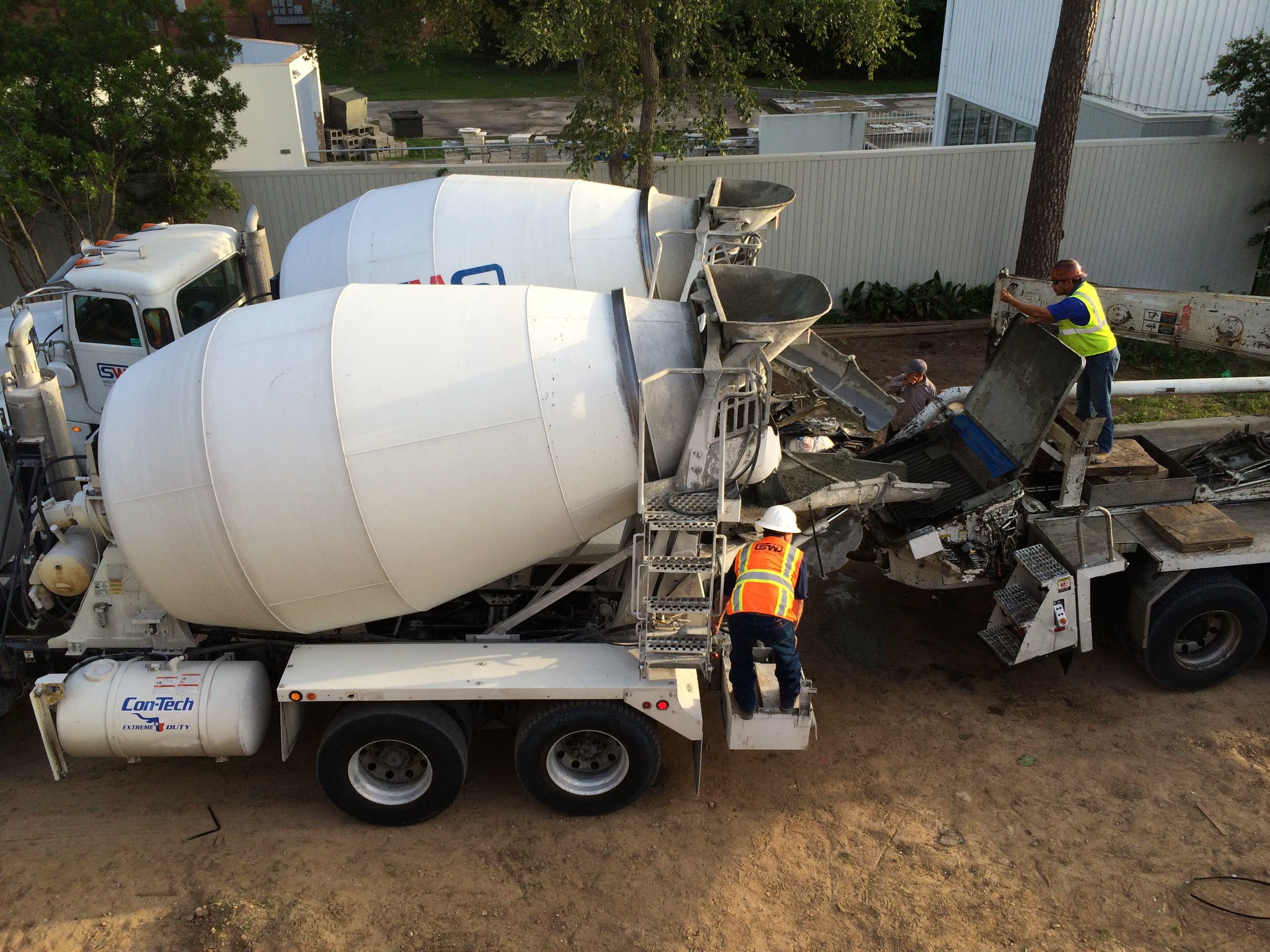 Double duty concrete trucks