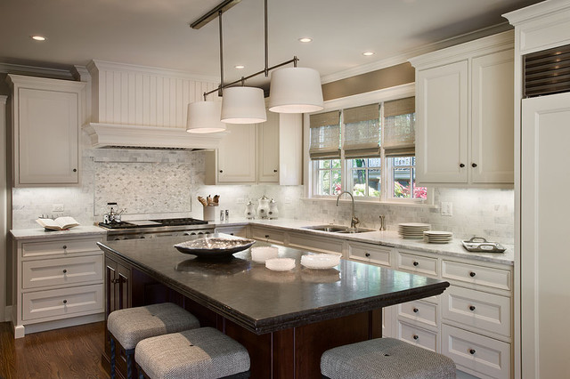 White Kitchen Interior Design classic white kitchen - traditional - kitchen - chicago -