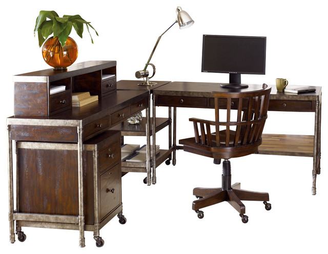 hammary structure office desk set desks and hutches houzz