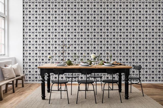 Paper Kaleidoscope industrial-dining-room