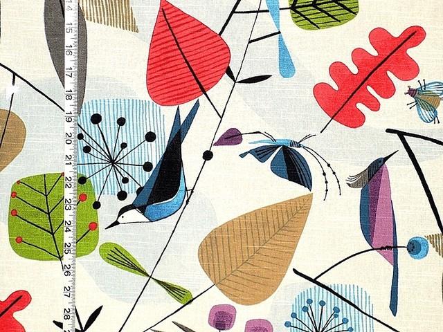 Scandinavian Fabric Retro Modern