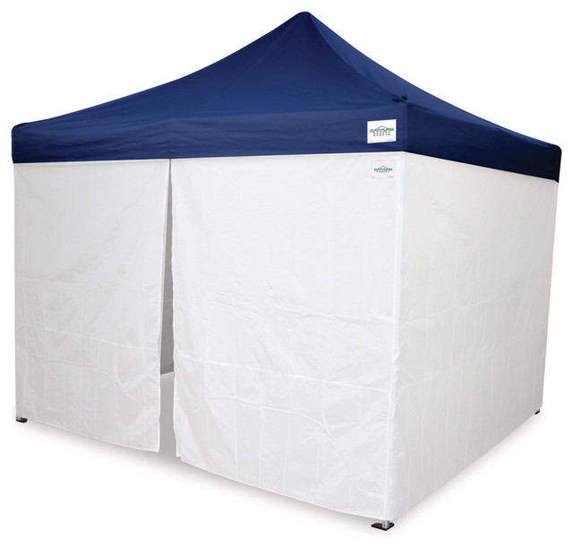 Caravan Canopy Sports 10&x27;x10&x27; Canopy Straight Leg Wall 4-Piece Kit.