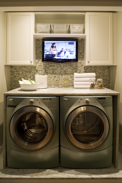 inspiration contemporary laundry room