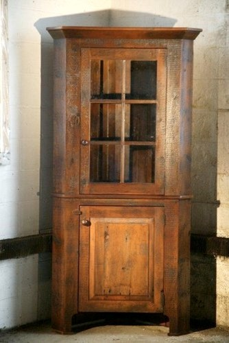 Corner Cabinet With Glass Door - Farmhouse - China Cabinets And Hutches - Boston - by ...