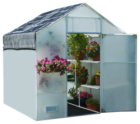 Garden Master Greenhouse, 12&x27;, 5mm Covering.