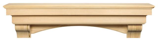 The Auburn Shelf Or Mantel Shelf, Unfinished, 60.