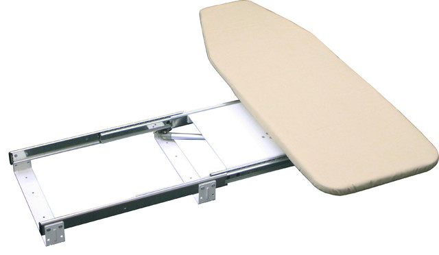 Campbell Retractable Pullout Folding Ironing Board Contemporary Ironing  Boards