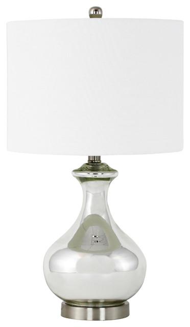 Deanna Silver Table Lamp.