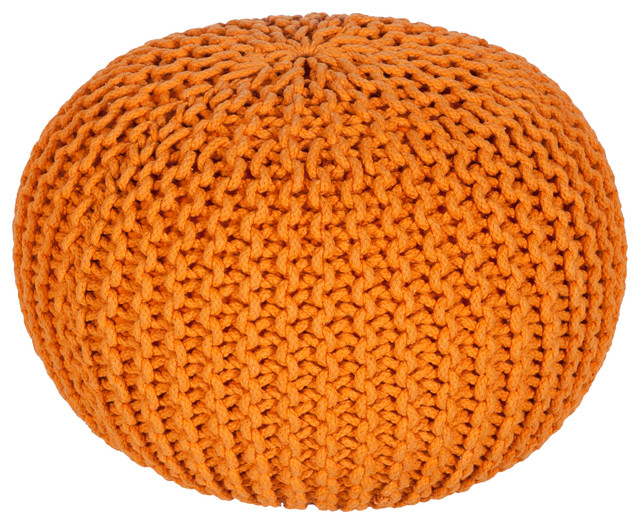 Malmo Pouf, Orange.