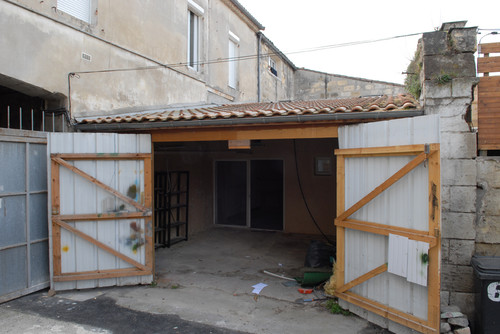 French garage makeover downsize my space for Garage transformation