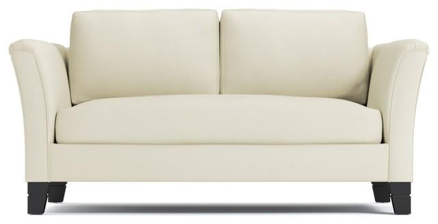 """Desoto Apartment Size Sofa, Buckwheat, 62""""x37""""x27""""."""