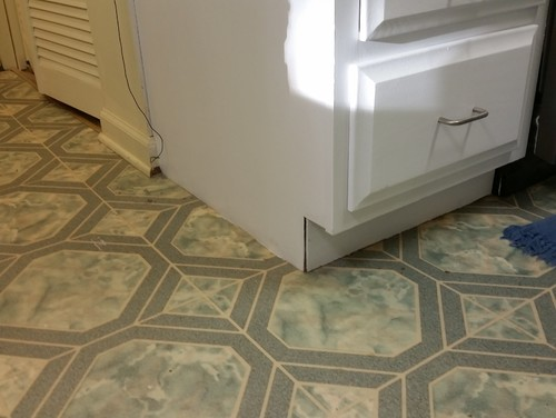 Problem With Mismatched Kitchen Floor Trim