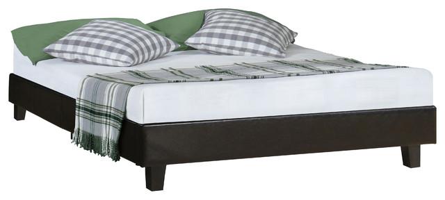 Acton Upholstered Platform Bed Transitional Platform Beds By Camden Isle