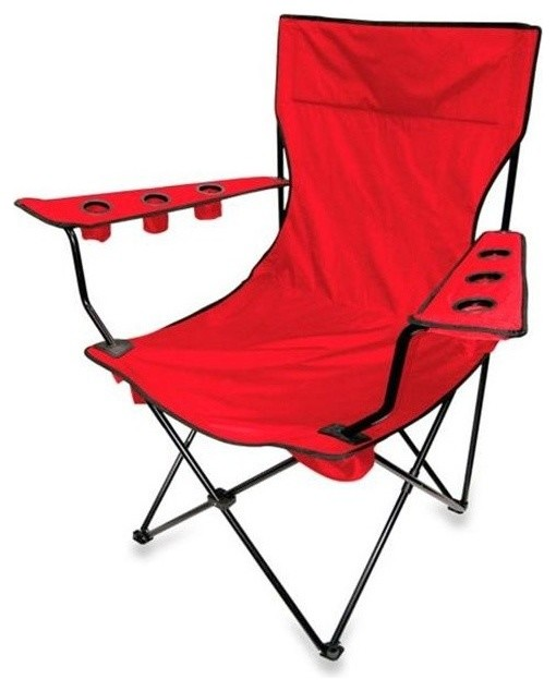 King Pin Folding Chair Red Contemporary Outdoor  : contemporary outdoor folding chairs from www.houzz.com size 510 x 634 jpeg 44kB