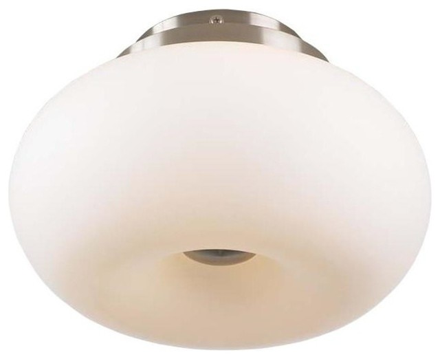 3-Light Ceiling Light Tessera Collection, Nickel.