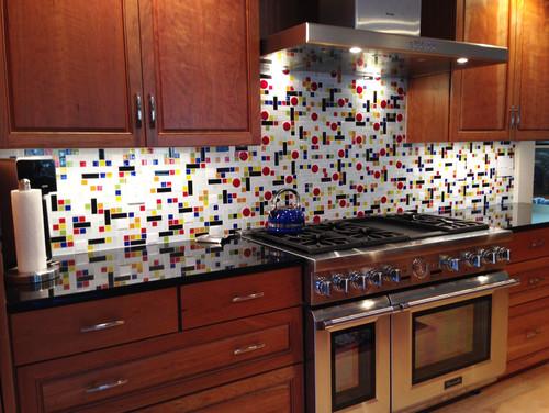 Tracy's Story | A Coonley Colorful Glass Tile Backsplash