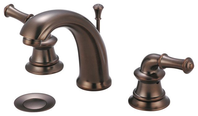 Delta Windemere Oil Rubbed Bronze 2 Handle Widespread: Two Handle Lavatory Widespread Faucet, PVD Brushed Nickel