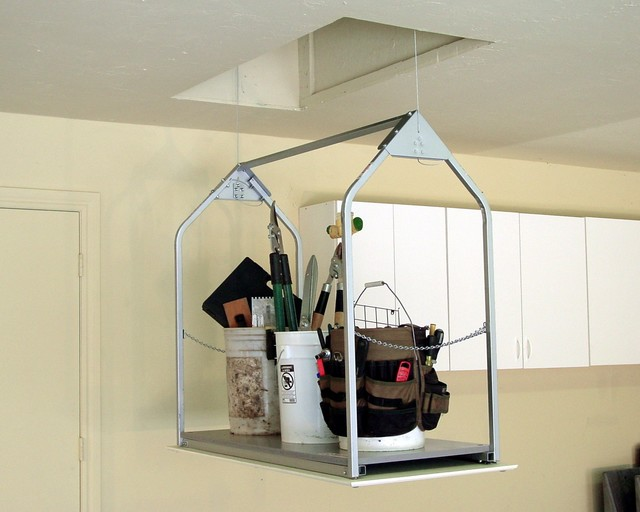 attic loft storage ideas - Versalift Attic Lift Oklahoma City by Versalift