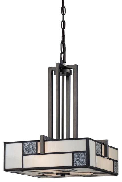 Bradley 3-Light Pendants, Charcoal.