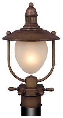 """Orleans 9"""" Outdoor Post Light"""