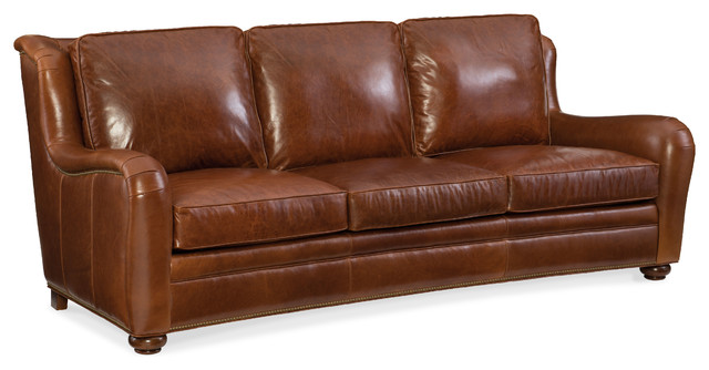 Majesty Stationary Sofa 8-Way Tie, French Natural, Chocolate.