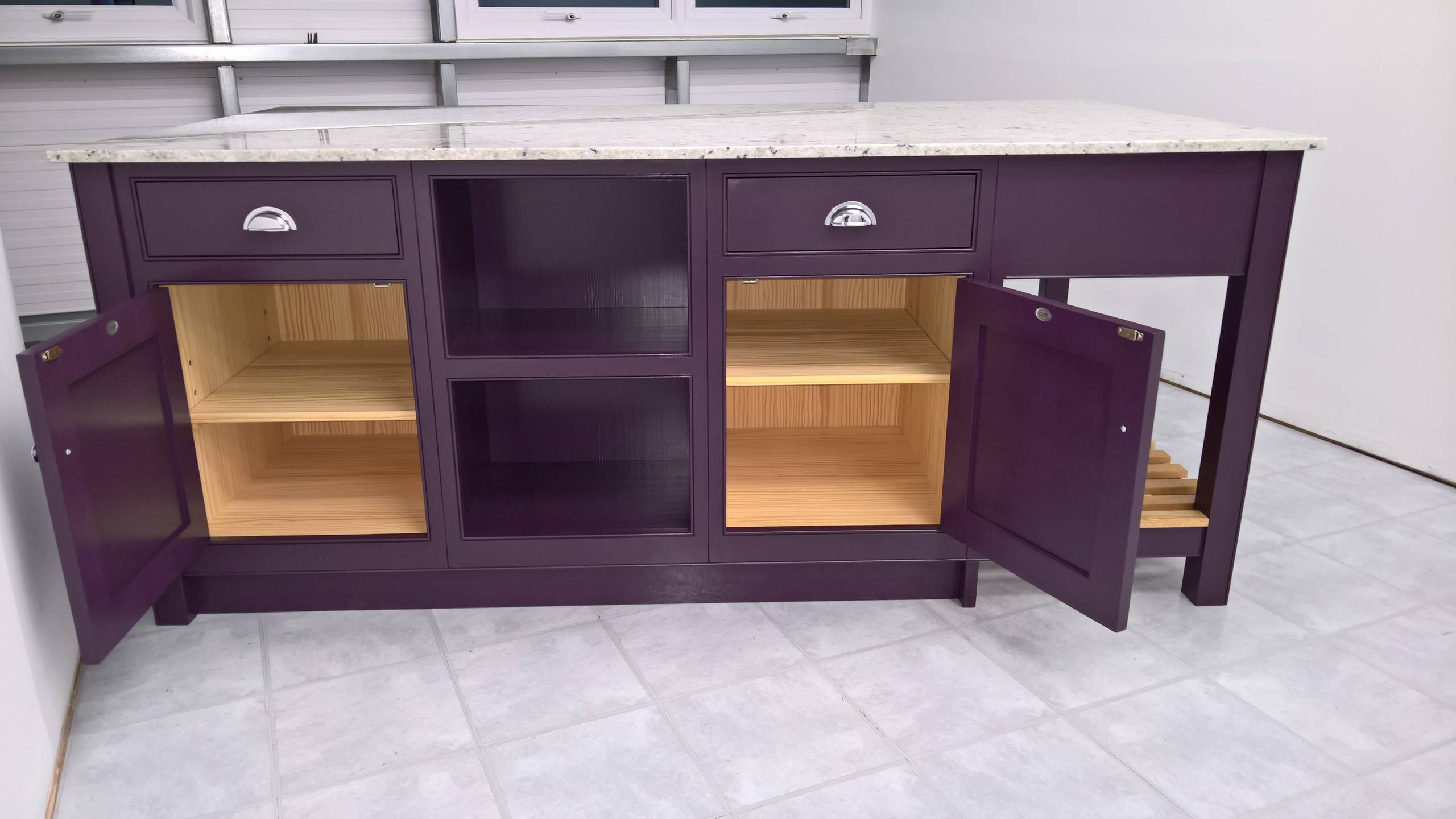 Island unit for our new  showroom