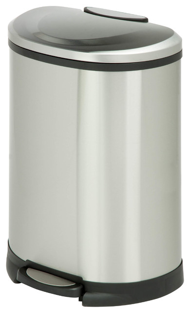 Trash Can 50l Contemporary Trash Cans By Honey Can Do