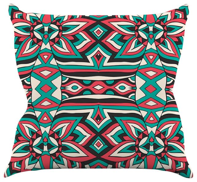 Shop HouzzKess InHouse Pom Graphic Design Ethnic Floral Mosaic