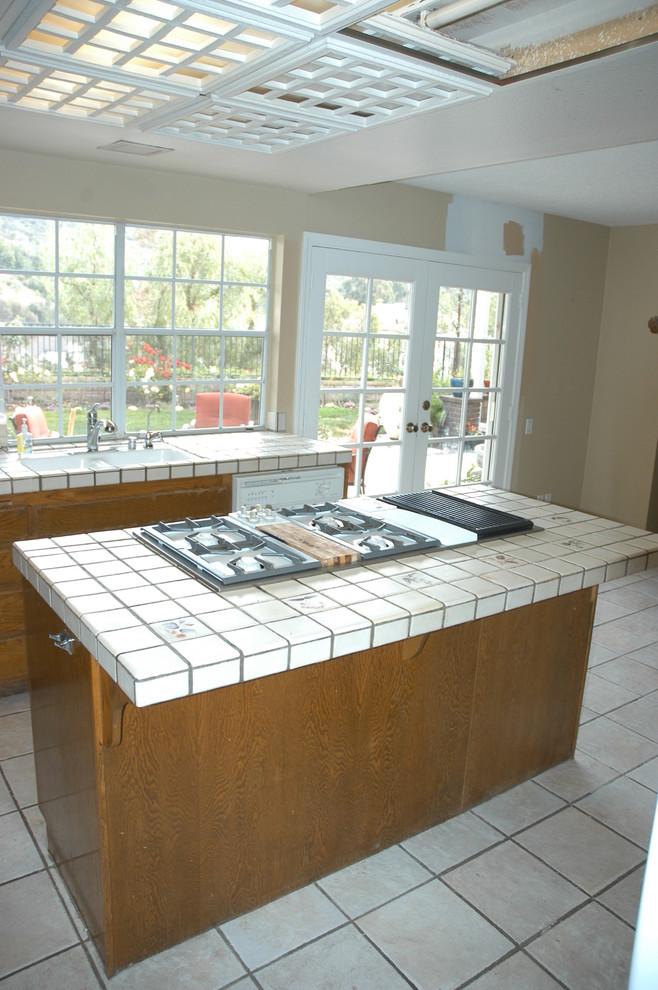 Transitional Kitchen Anaheim Hills
