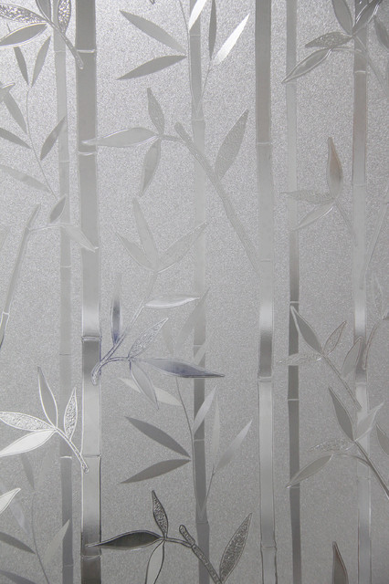 """Farmhouse Home Hall  Decals Privacy Frosted Bamboo Window Films Sticker, 35""""."""