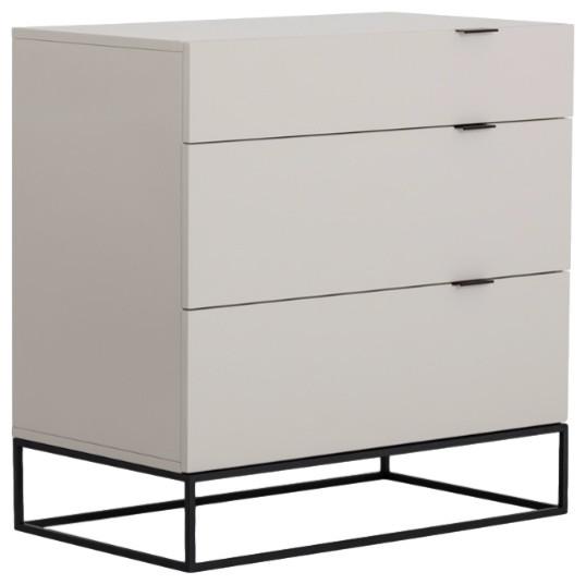 Modrest Hera Modern Gray Dresser.