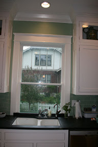 Sink in front of low window banquette old house for House plans with kitchen sink window