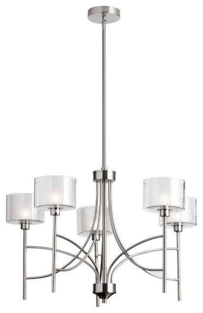 Kennedy 5 Light Transitional Chandelier Transitional Chandeliers