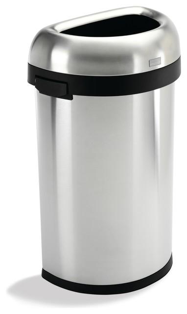60 litre semiround open can