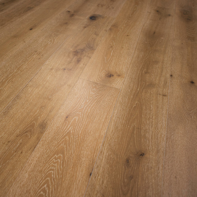 French Oak Prefinished Engineered Wood Floor Washington Sample