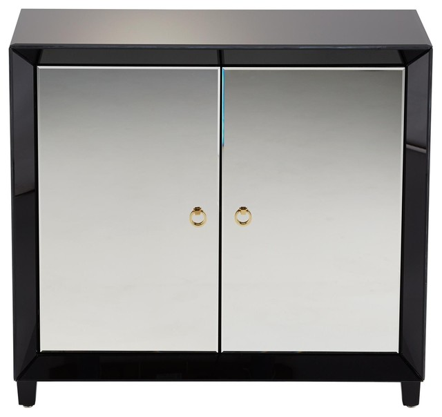 Storage Cabinet CYAN DESIGN OMAR Clear traditional-storage-cabinets