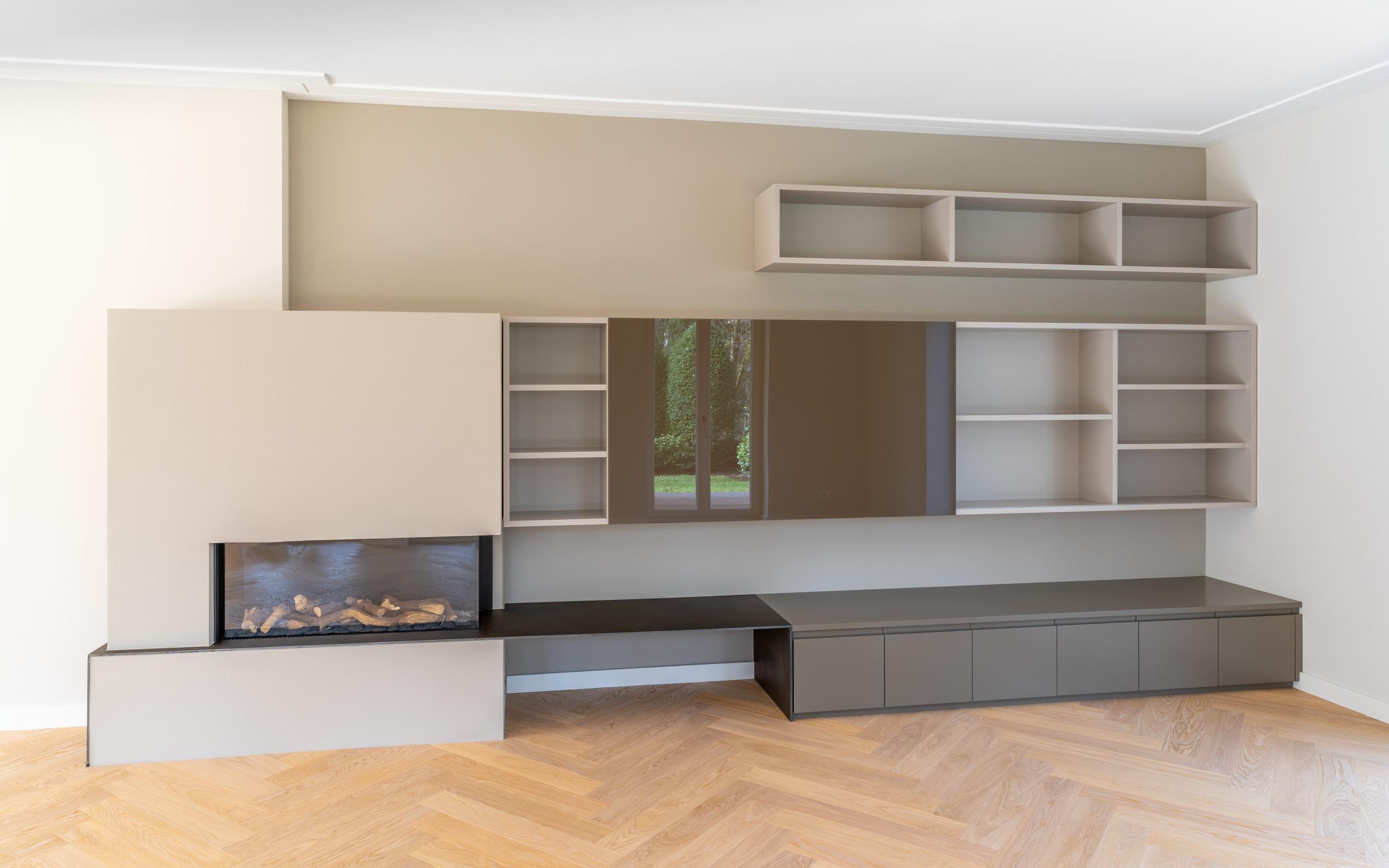 Z11 - Bibliothek & TV-Regal