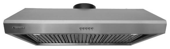 XtremeAIR Under Cabinet Stainless Steel Range Hood - Modern ...