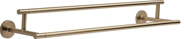 "Waldorf Crystal 1 3/8"" Cabinet Knob In Antique Brass"
