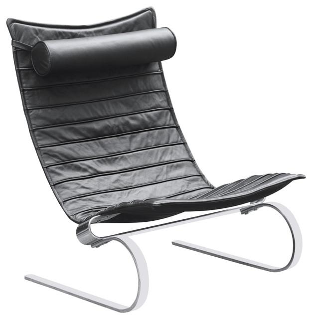Phenomenal Fine Mod Imports Pika 20 Lounge Chair Black Lamtechconsult Wood Chair Design Ideas Lamtechconsultcom