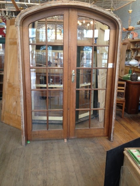 Superior How To Make Arch French Door Work