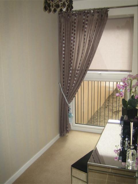 Dressing Room Contemporary Bedroom Hertfordshire