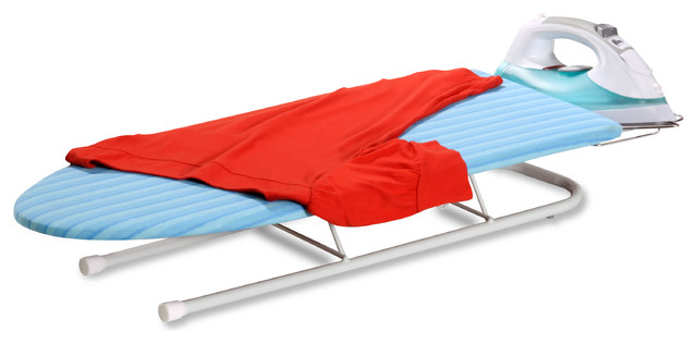 Collapsible Tabletop Ironing Board.