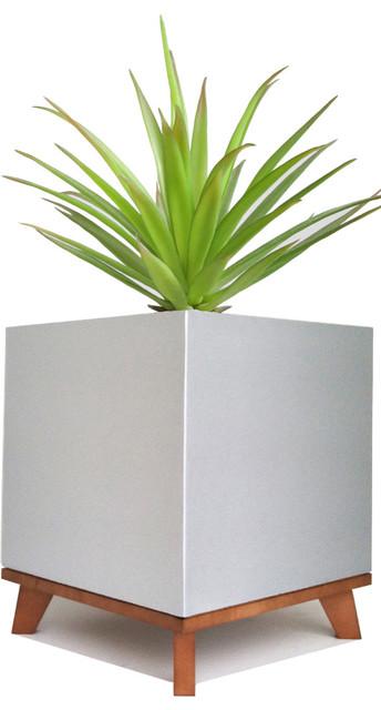 NMN Designs - Madeira Cube Planter & Reviews | Houzz