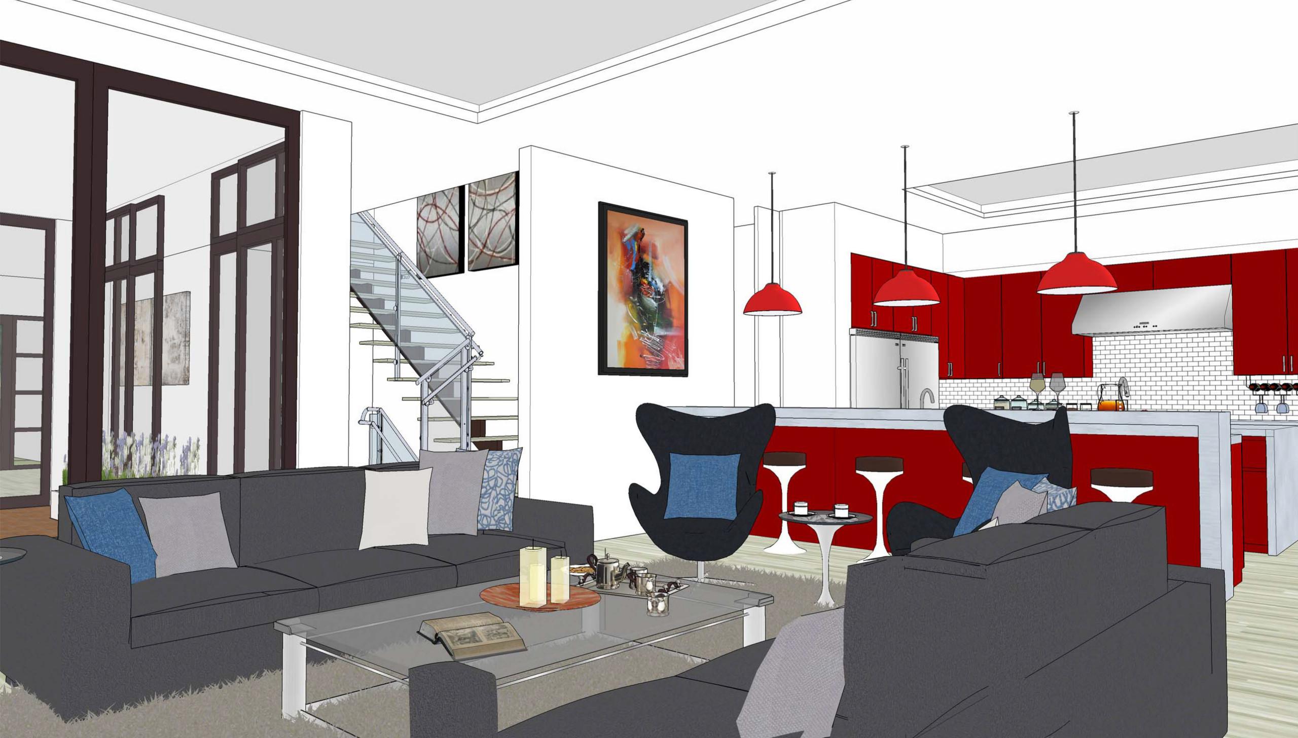 Modern Single-Family Residence in Studio City