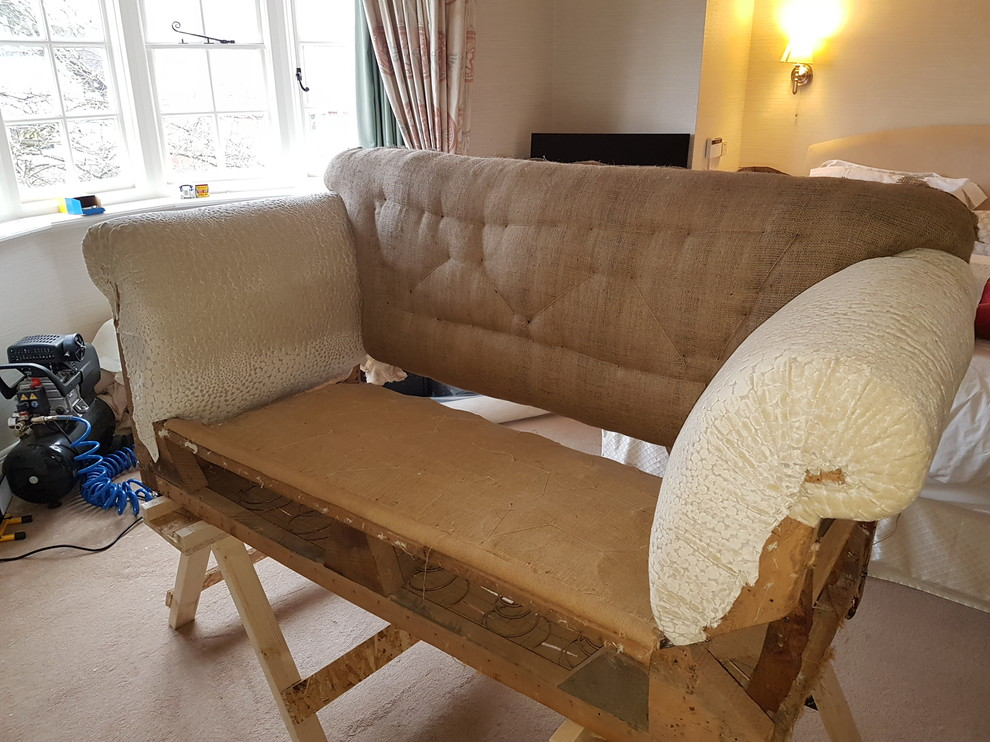 commision - drop arm sofa - traditional