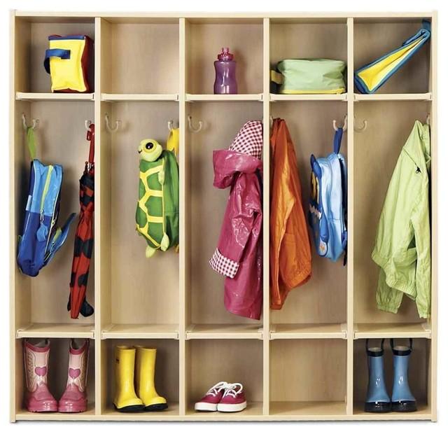5-Section Coat Locker.