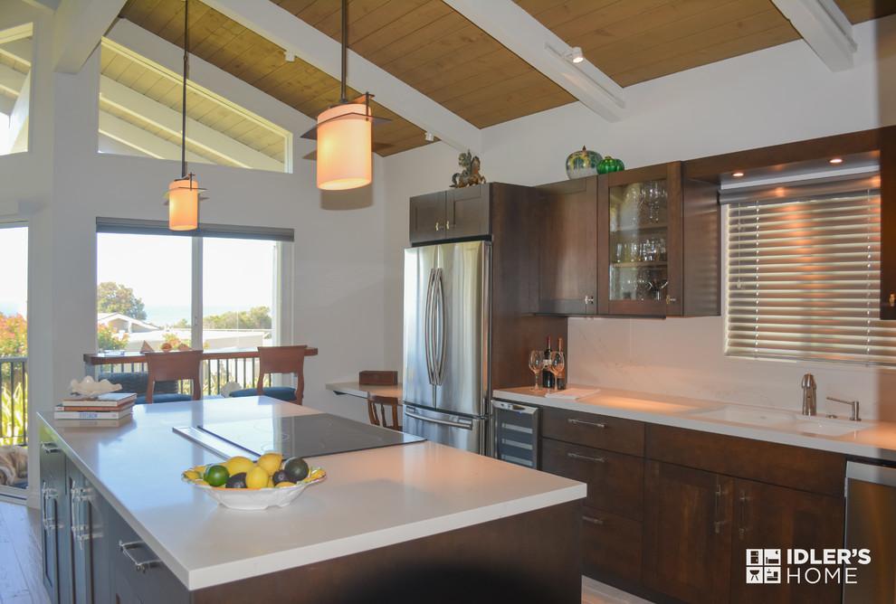 Idlers Home Shell Beach Kitchen-RL Sendra, Designer