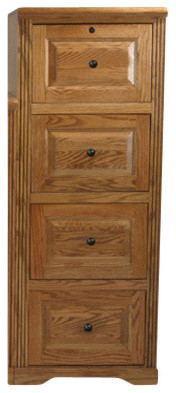 Eagle Furniture Oak Ridge 4-Drawer File Cabinet - Transitional - Filing Cabinets - by Eagle ...