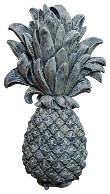 Pineapple Plaque, Moss. -1